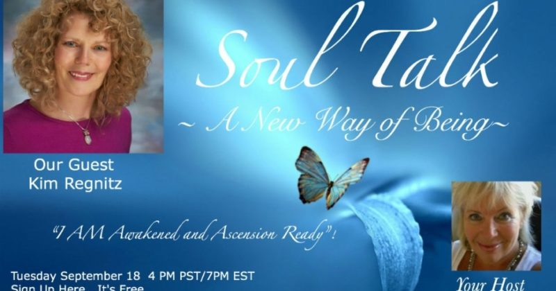 Kim LIVE on Soul Talk with Patty Malek – September 18, 2018