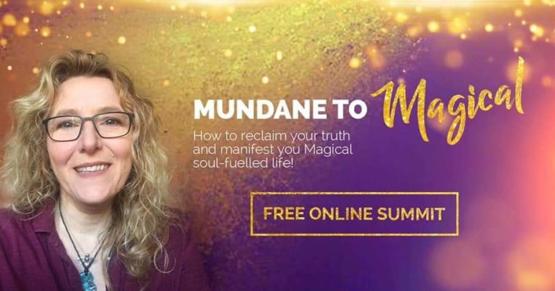"2-18-19 Kim on ""Mundane to Magical"" FREE ONLINE SUMMIT with Lou Matson"