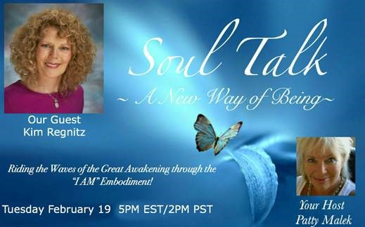 2-19-19 Kim LIVE on Soul Talk with Patty Malek