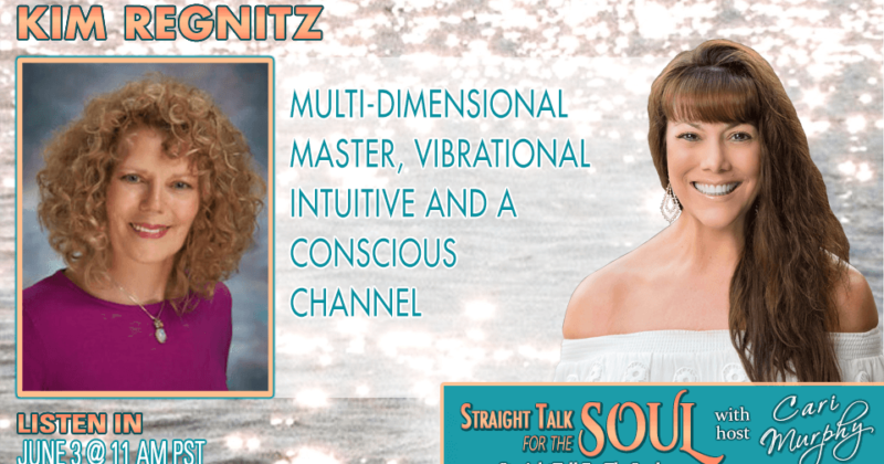 6-5-20 1PM CST | Kim on Cari Murphy's Straight Talk for the Soul Season 15