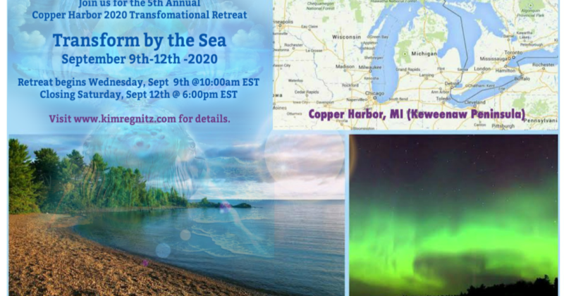 Sept 9-12: 2020 Copper Harbor Transformational Retreat