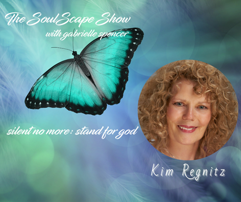 "11-19-20 7pm CST Kim on Gabrielle Spencer ""SoulScape"" Show"